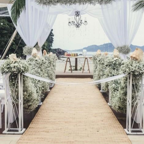 Casamento Danielle e Ricardo - Beach Hotel Juquehy (Foto: Retrato Atelier) - Mara Perez Arquitetura de Festas